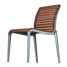 Teak Chair sedia per esterni