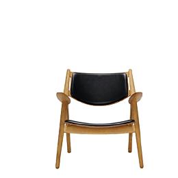 CH28P lounge chair poltroncina