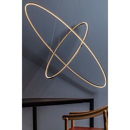 Ellisse double mega lampada a sospensione