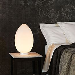 Uovo lampada da tavolo Ø cm 27