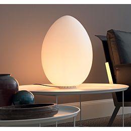 Uovo lampada da tavolo Ø cm 43