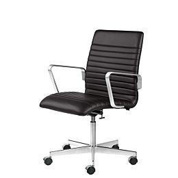 Oxford Premium sedia girevole schienale medio
