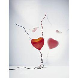 One From The Heart lampada da tavolo