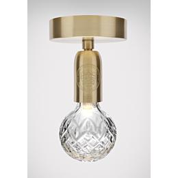 Crystal Bulb Ceiling Light lampada a soffitto