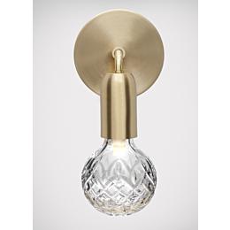 Crystal Bulb Wall Light lampada da parete