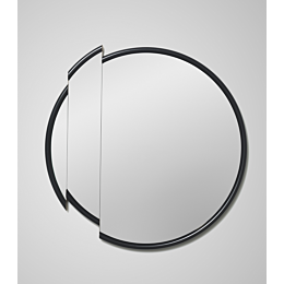Split Mirror Round specchio rotondo