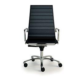Light sedia direzionale con schienale alto