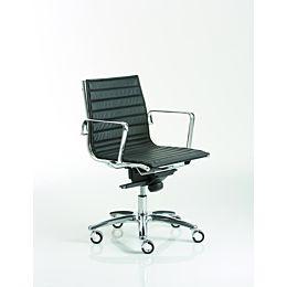 Light sedia direzionale con schienale basso