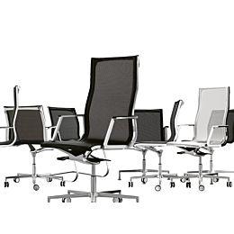 Nulite sedia da ufficio in tessuto reticolare