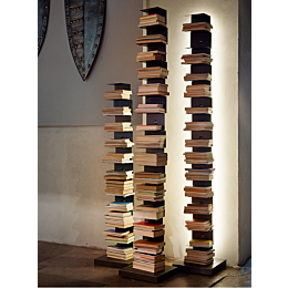 Ptolomeo Luce libreria con illuminazione LED h160cm