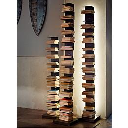 Ptolomeo Luce libreria con illuminazione LED  h215cm