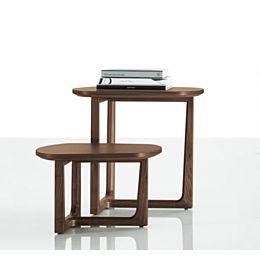 Tridente tavolino in legno piccolo