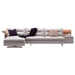 GranTorino divano con chaise longue