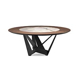 Skorpio ker-wood round tavolo