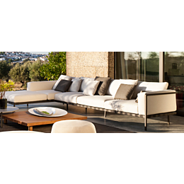 Natal Alu divano modulare 370x188