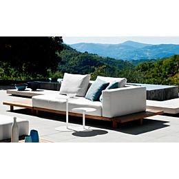 Vis à vis divano componibile 318x121