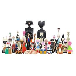 Wooden Dolls bambole ornamentali