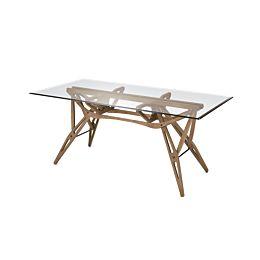 Reale tavolo rettangolare